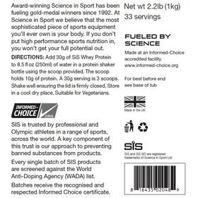SiS Whey Protein Dose 1kg Vanilla
